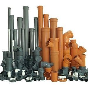 Трубы водопроводные и канализационные