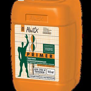 Растворимая грунтовка Alinex (10 л)
