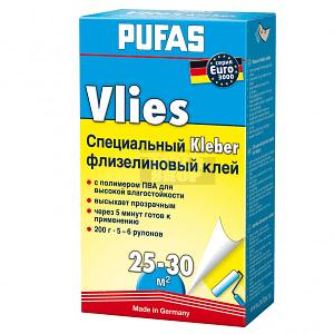 Обойный клей PUFAS Флизелин 200 гр