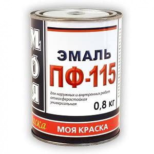 Краска эмаль ПФ-115